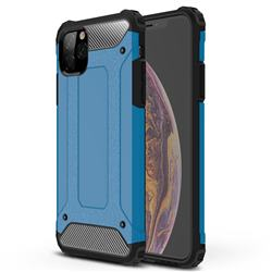 King Kong Armor Premium Shockproof Dual Layer Rugged Hard Cover for iPhone 11 Pro Max (6.5 inch) - Sky Blue