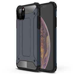 King Kong Armor Premium Shockproof Dual Layer Rugged Hard Cover for iPhone 11 Pro Max (6.5 inch) - Navy