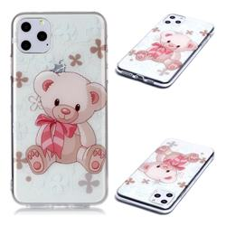 Cute Little Bear Super Clear Soft TPU Back Cover for iPhone 11 Pro Max (6.5 inch)