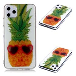 Cute Pineapple Super Clear Soft TPU Back Cover for iPhone 11 Pro Max (6.5 inch)