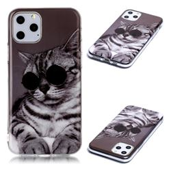 Kitten with Sunglasses Soft TPU Cell Phone Back Cover for iPhone 11 Pro Max (6.5 inch)