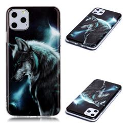 Fierce Wolf Soft TPU Cell Phone Back Cover for iPhone 11 Pro Max (6.5 inch)