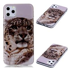 White Leopard Soft TPU Cell Phone Back Cover for iPhone 11 Pro Max (6.5 inch)