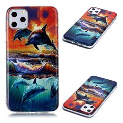 Flying Dolphin Soft TPU Cell Phone Back Cover for iPhone 11 Pro Max (6.5 inch)