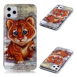 Cute Tiger Baby Soft TPU Cell Phone Back Cover for iPhone 11 Pro Max (6.5 inch)