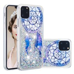 Fantasy Wind Chimes Dynamic Liquid Glitter Quicksand Soft TPU Case for iPhone 11 Pro Max (6.5 inch)
