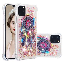 Seal Wind Chimes Dynamic Liquid Glitter Sand Quicksand Star TPU Case for iPhone 11 Pro Max (6.5 inch)