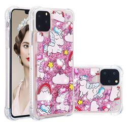 Angel Pony Dynamic Liquid Glitter Sand Quicksand Star TPU Case for iPhone 11 Pro Max (6.5 inch)