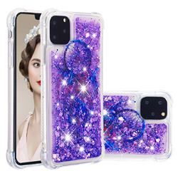 Retro Wind Chimes Dynamic Liquid Glitter Sand Quicksand Star TPU Case for iPhone 11 Pro Max (6.5 inch)