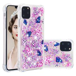 Diamond Dynamic Liquid Glitter Sand Quicksand Star TPU Case for iPhone 11 Pro Max (6.5 inch)