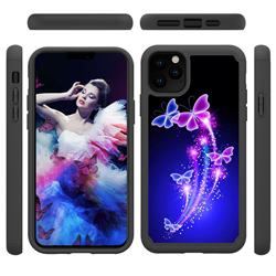 Dancing Butterflies Shock Absorbing Hybrid Defender Rugged Phone Case Cover for iPhone 11 Pro Max (6.5 inch)