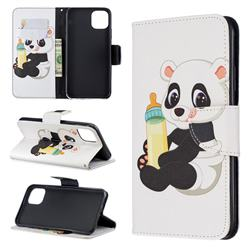Baby Panda Leather Wallet Case for iPhone 11 Pro Max