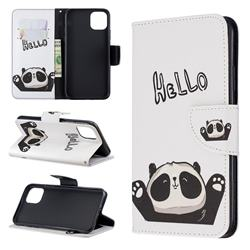 Hello Panda Leather Wallet Case for iPhone 11 Pro Max
