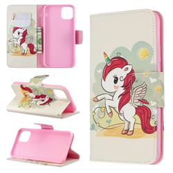 Cloud Star Unicorn Leather Wallet Case for iPhone 11 Pro Max