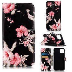 Azalea Flower PU Leather Wallet Case for iPhone 11 Pro Max (6.5 inch)