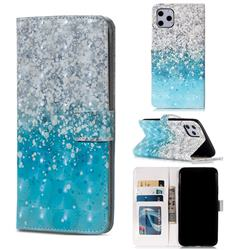 Sea Sand 3D Painted Leather Phone Wallet Case for iPhone 11 Pro Max (6.5 inch)