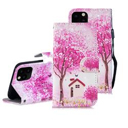 Tree House 3D Painted Leather Wallet Phone Case for iPhone 11 Pro Max (6.5 inch)