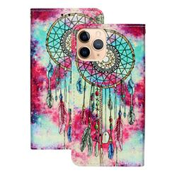 Butterfly Chimes PU Leather Wallet Case for iPhone 12 (5.4 inch)