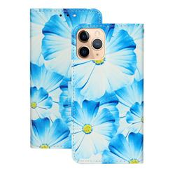 Orchid Flower PU Leather Wallet Case for iPhone 12 (5.4 inch)