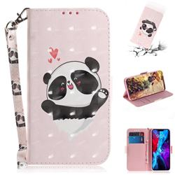 Heart Cat 3D Painted Leather Wallet Phone Case for iPhone 12 Pro (6.1 inch)
