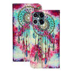 Butterfly Chimes PU Leather Wallet Case for iPhone 12 Pro (6.1 inch)