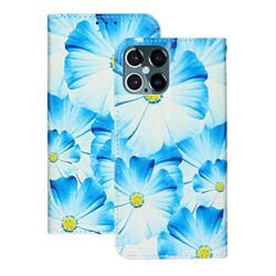 Orchid Flower PU Leather Wallet Case for iPhone 12 Pro (6.1 inch)