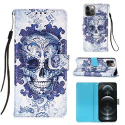 Cloud Kito 3D Painted Leather Wallet Case for iPhone 12 / 12 Pro (6.1 inch)