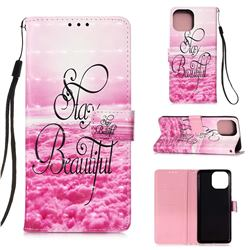 Beautiful 3D Painted Leather Wallet Case for iPhone 13 (6.1 inch)