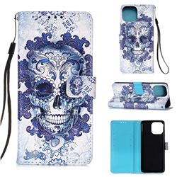 Cloud Kito 3D Painted Leather Wallet Case for iPhone 13 mini (5.4 inch)