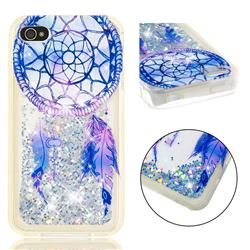 Fantasy Wind Chimes Dynamic Liquid Glitter Quicksand Soft TPU Case for iPhone 4s 4