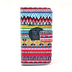 Old Tribal Leather Wallet Case for iPhone 4s / iPhone 4