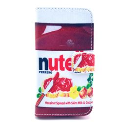 Nutella Leather Wallet Case for iPhone 4s / iPhone 4
