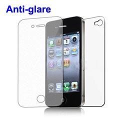 Front and Back Screen Protector Guard for iPhone 4 4S - Frosted / Anti-Glare