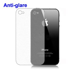 Anti-glare Screen Protector Cover for iPhone 4 4S - Back