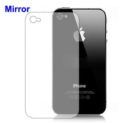 Mirror Screen Protector Cover for iPhone 4 4S - Back