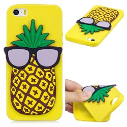 Pineapple Soft 3D Silicone Case for iPhone SE 5s 5