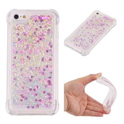 Dynamic Liquid Glitter Sand Quicksand Star TPU Case for iPhone SE 5s 5 - Rose