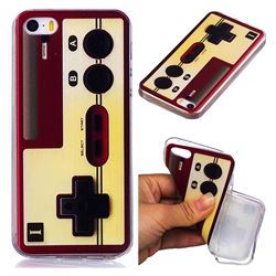 Classic Gamepad Super Clear Soft TPU Back Cover for iPhone SE 5s 5