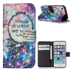 Do Have Dreams Leather Wallet Case for iPhone 5s / iPhone 5