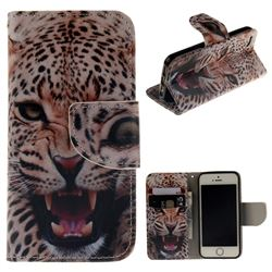 Puma PU Leather Wallet Case for iPhone SE 5s 5
