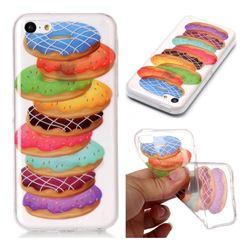 Melaleuca Donuts Super Clear Soft TPU Back Cover for iPhone 5c