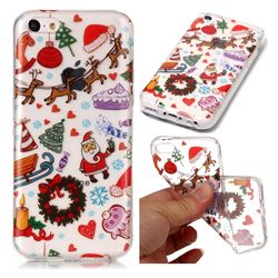 Christmas Playground Super Clear Soft TPU Back Cover for iPhone 5c