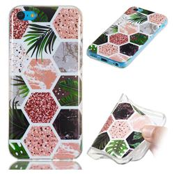 Rainforest Soft TPU Marble Pattern Phone Case for iPhone 5c