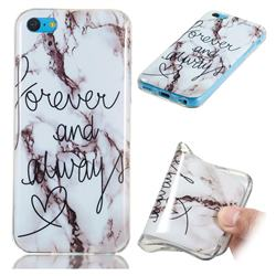 Forever Soft TPU Marble Pattern Phone Case for iPhone 5c
