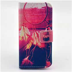 Adornment Dream Catcher Leather Wallet Case for iPhone 5c