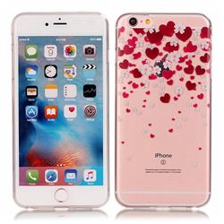 Love Flower Super Clear Soft TPU Back Cover for iPhone 6s 6 (4.7 inch)