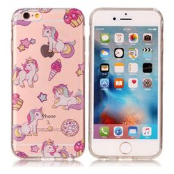 Unicorn Super Clear Soft TPU Back Cover for iPhone 6s 6 6G(4.7 inch)