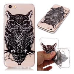 Staring Owl Super Clear Soft TPU Back Cover for iPhone 6s 6 6G(4.7 inch)