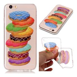Melaleuca Donuts Super Clear Soft TPU Back Cover for iPhone 6s 6 6G(4.7 inch)