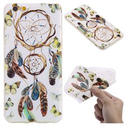 Color Wind Chimes 3D Relief Matte Soft TPU Back Cover for iPhone 6s 6 6G(4.7 inch)